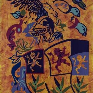 Blasones 7 Acrilico sobre tela 150 x 100 cm-10x15