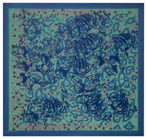 Transformaciones 12 Acrílico sobre tela 157 x 149 cm_