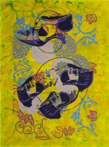 Transformaciones 27 Acrilico sobre   tela 132 x 98 cm