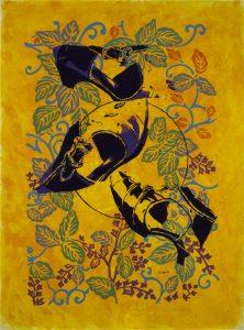 Transformaciones 28 Acrilico sobre   tela 132 x 95 cm