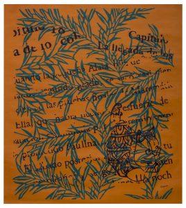 Transformaciones 9 Acrílico sobre tela 100 x 90 cm_